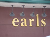 Store front for Earl's