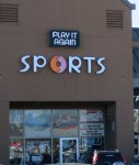 Store front for Play It Again Sports