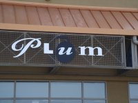 Store front for Plum