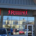 Store front for Running Room