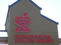 Store front for Shoppers Drug Mart