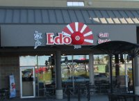 Store front for Edo Grill Sushi