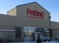 Store front for Petland