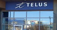 Store front for Telus